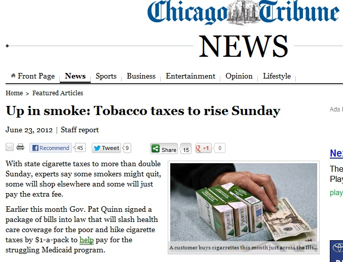 tobacco taxes
