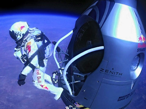Sky Diver From Space Needed Hypnosis