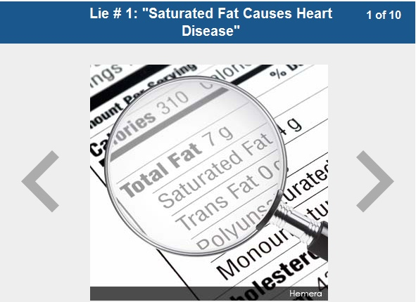 10 Lies and Misconceptions Spread By Mainstream Nutrition