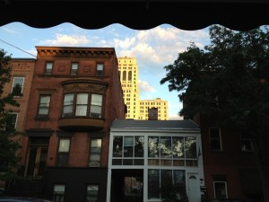 As the sky settled toward evening I took a photo.