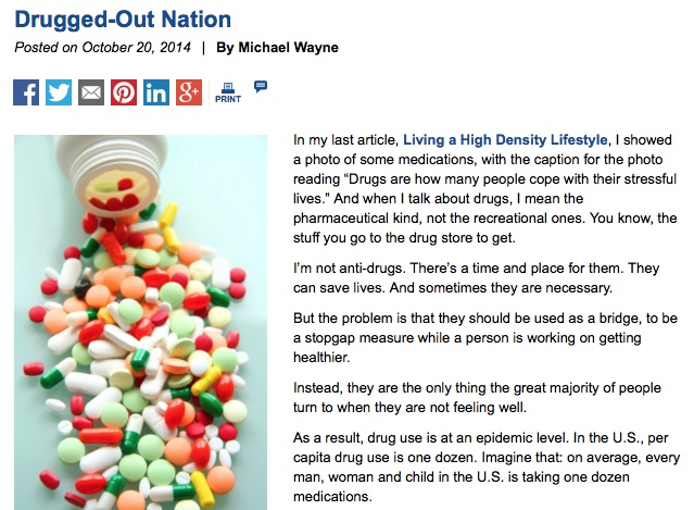 Drugged Out Nation?