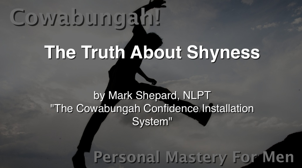 The Truth About Shyness