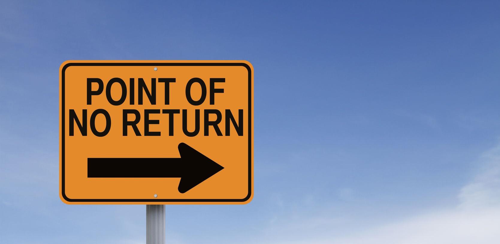 point of no return crop