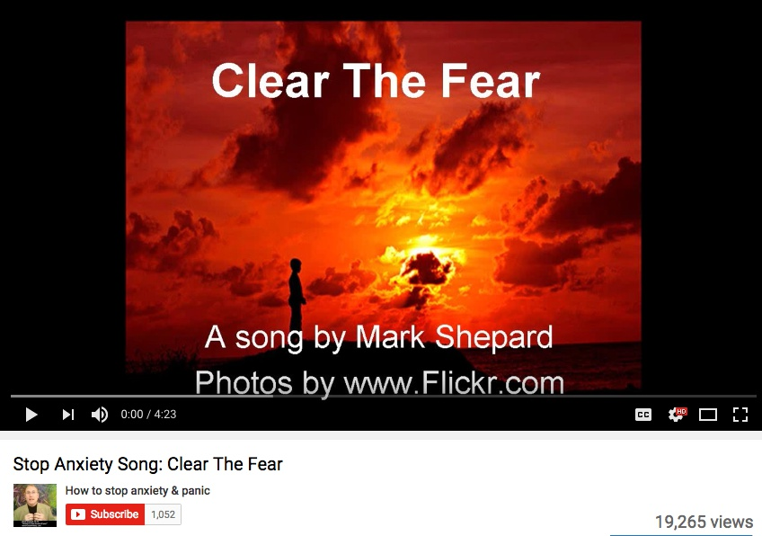 352 clear the fear video ss