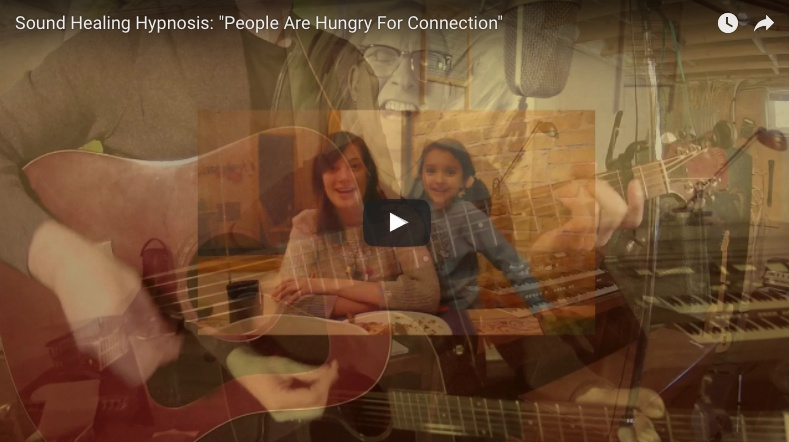 Sound Healing Hypnosis Music Video: People Are Hungry