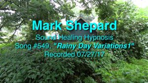 Sound Healing Hypnosis Session: Rainy Day Variations