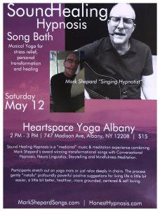 Sound Healing Hypnosis At Heartspace Yoga Albany May 12