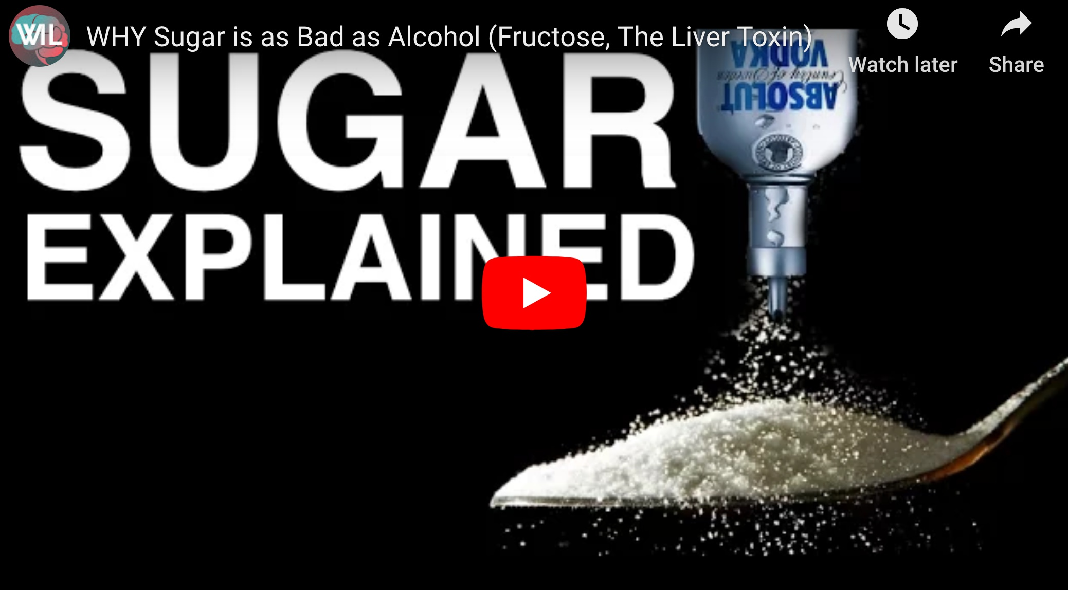 Fructose, The Liver Toxin (Why Sugar is as Bad as Alcohol)